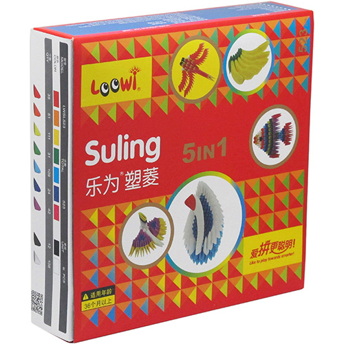 Loowi Suling, 5 in 1 Packages, Model LWSL523