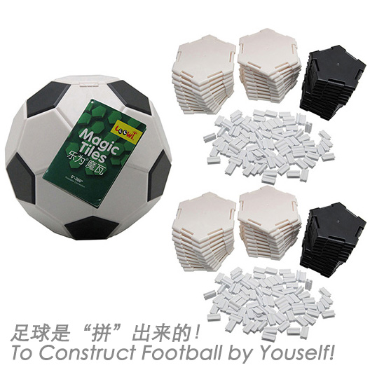 Loowi Magic Tiles in Loowi Football. To construct a football by youself.